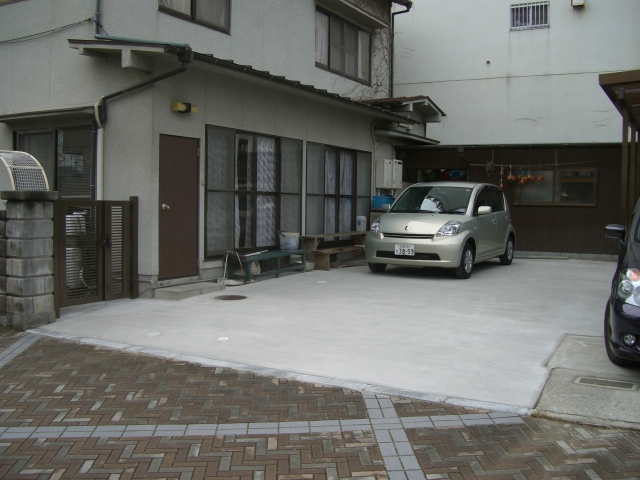 I邸駐車場整備工事