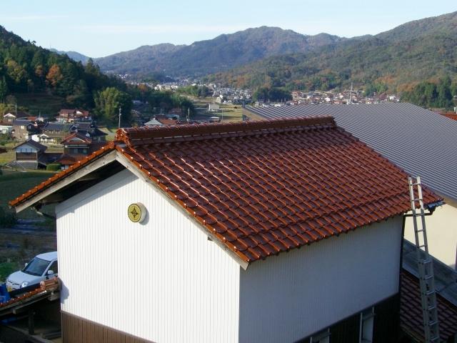 H邸屋根改修