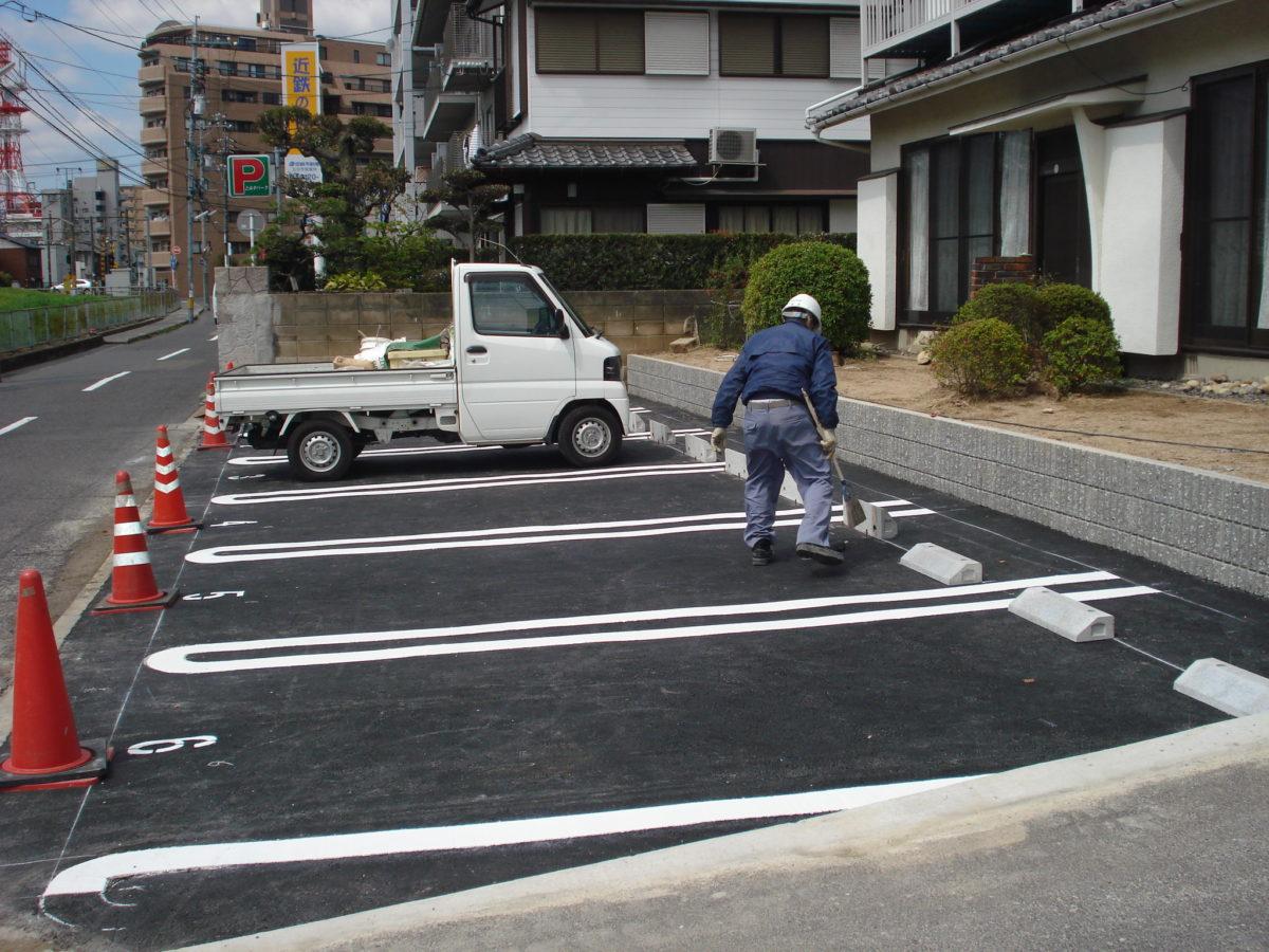 F邸駐車場増築工事