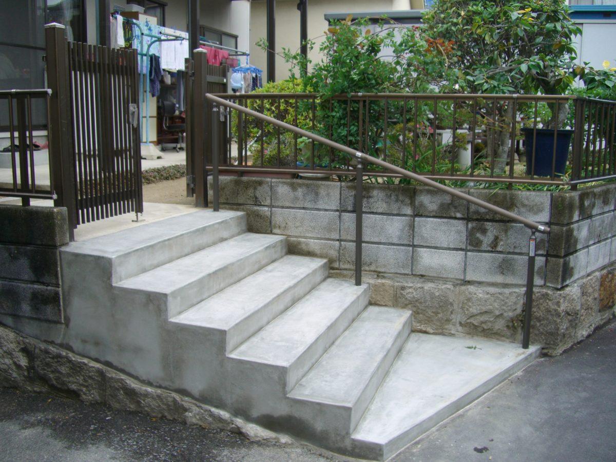 F邸階段改修工事